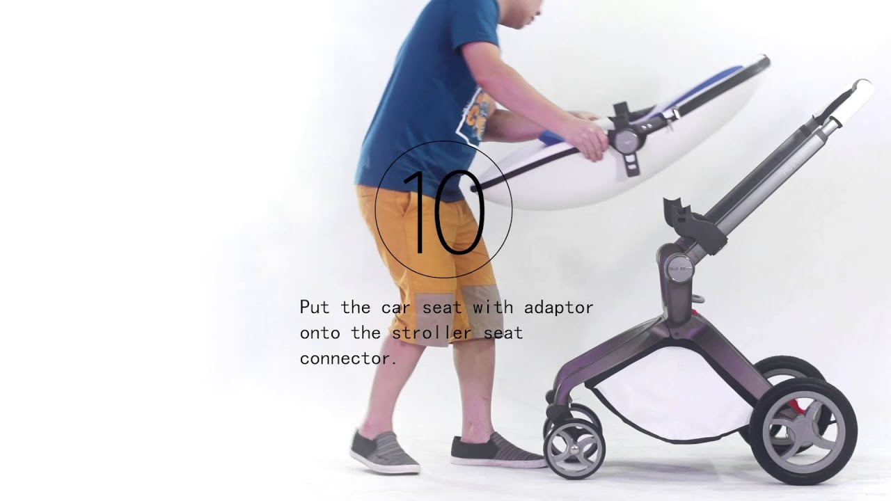 How To Install And Fold The Hot Mom Strollers New Youtube