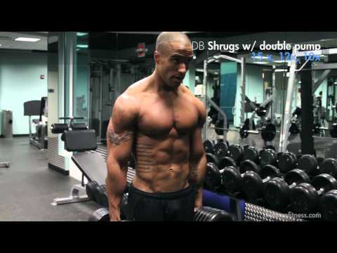 SHOULDERS muscular development with Evan Shy