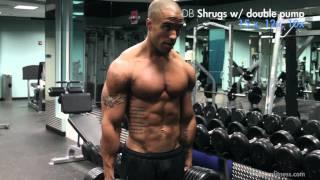 SHOULDERS muscular development with Evan Shy