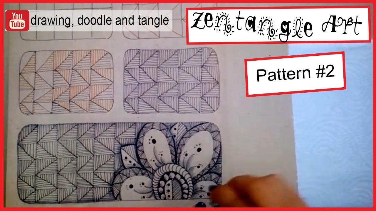 Zentangle Pattern Ideas Unique Design