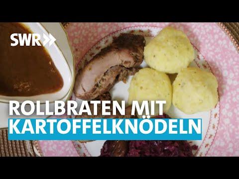 Oma kocht am besten:  Rollbraten mit Kartoffelknödeln und Pralinen
