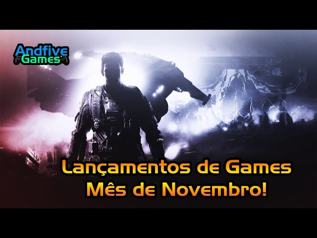 Lan�amentos de Games Novembro 2016 Call Of Duty IW, Watch Dogs 2, Final Fantasy XV e Mais