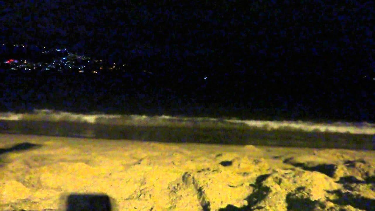 Acapulco Noche Relajante En La Playa Youtube