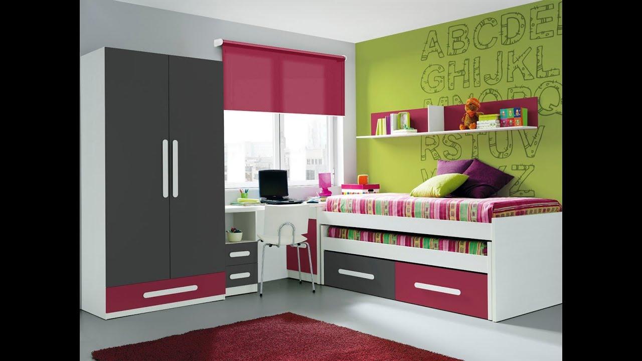 Habitaciones juveniles decoradas en rojo - Habitaciones decoradas juveniles ...