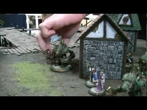Rhulic vs Privateers 01 Warmachine Battle Report- Mercenary Cove