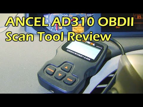 ANCEL AD310 OBDII Diagnostic Scan Tool Code Reader