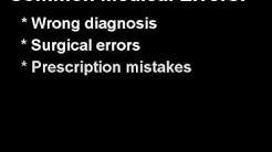 Medical Malpractice Definition