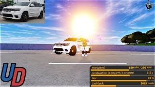 Review of the NEW Jeep Grand Cherokee Trackhawk in Ultimate Driving Roblox