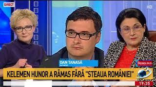 """Dan Tănasă, despre decizia de retragere a ordinului """"Steaua României"""" lui Kelemen Hunor: """"S"""