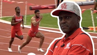 Carl Lewis Reacts To Houston's 4x1 | Speed City Extra