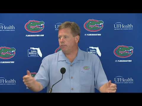Florida Football: Jim McElwain Press Conference 8-23-17