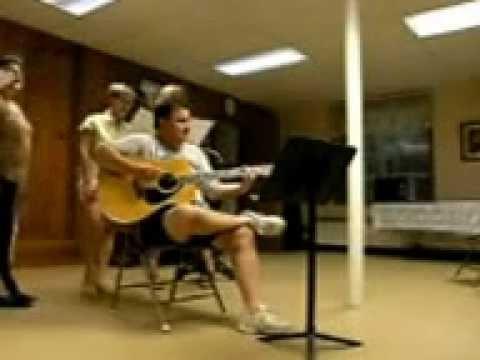 November 2010 = Kenn, Mike, friends and I singing