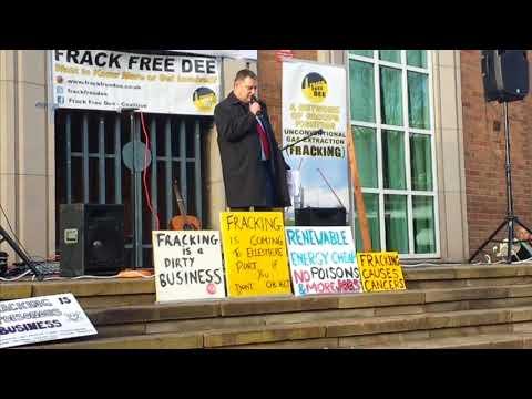 Anti-fracking demo 18 Nov 2017