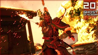 MYTHIC TALE: WAY OF THE FLAME & MONGOL ARMOR! | Ghost of Tsushima Walkthrough Gameplay (PS4 Pro) #20