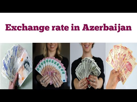 Forex Currency Exchange Rate In Azerbaijan | Azerbaijani Manat Rate Today | USD To Manat | Dollar
