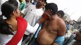 Principal stripped, dragged, beaten in public for sexually assaulting a school girl