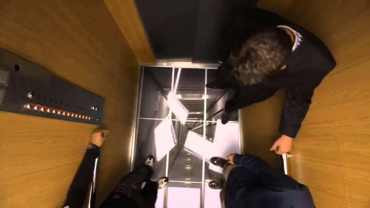Quảng cáo thang máy gây shock của LG