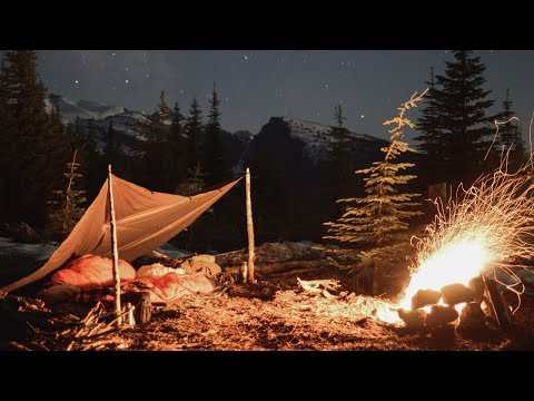 Camping in the Canadian Rockies - Expedition Into the Columbia Mountains
