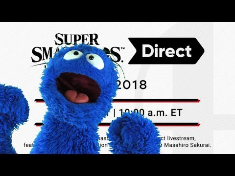 Smash Ultimate Direct 8/8/18 Live Reaction and Commentary