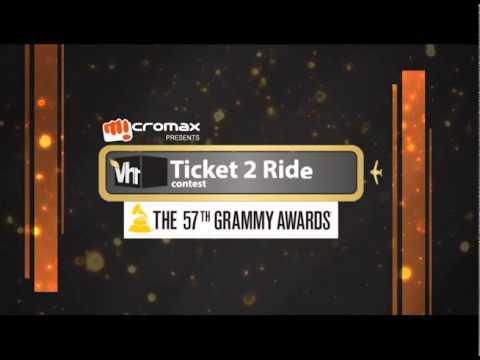 Grammys 2015 Ticket To Ride Promo