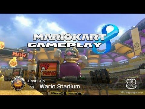 Mario Kart 8 - Wario Stadium ( DS )  - Leaf Cup - Lemmy Gameplay [ HD ]