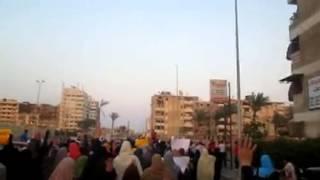 مسيرة لرافضي الانقلاب بمنطقة الجوهرة ببورسعيد باسبوع
