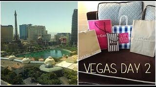 Honeymoon in Vegas: vlog day 2  ❤ June 11th 2014 (North Outlets, Fashion Show & Forum Shops) Thumbnail