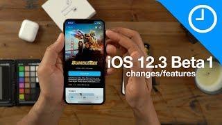 iOS 12.3 beta 1 changes / features - redesigned TV app!