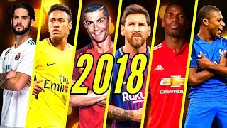 Best Football Skills Mix 2018 • Neymar • Ronaldo • Messi • Dembélé • Isco • Mbappé • Pogba & More