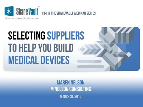 Selecting Suppliers to Help You Build Medical Devices