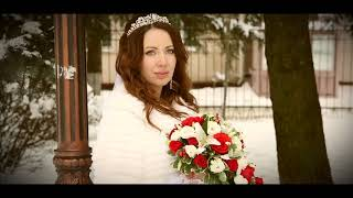 Свадебная прогулка зимой