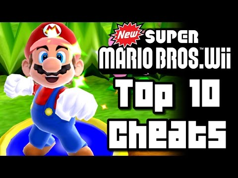 New Super Mario Bros Wii TOP 10 CHEATS (Wii)