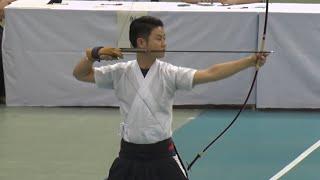 2018年 第66回全日本学生弓道選手権大会 個人戦(男子) 八寸7本目 優勝決定