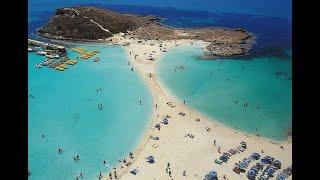 Кипр Айя Напа пляж Нисси Cyprus Ayia Napa Nissi Beach