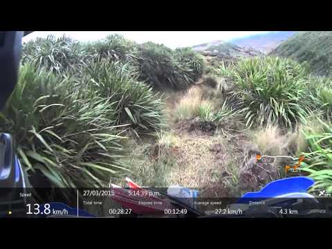 Tussock Buster 2015 Friday #03 Sony HDR AS30V
