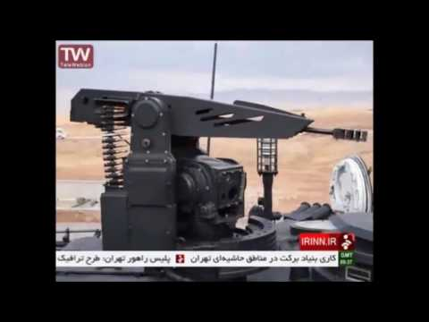 Iran's military officially unveiled its newest Karrar main battle tank