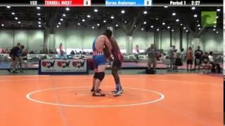 CADET 152 - TERRELL WEST vs. Byron Anderson