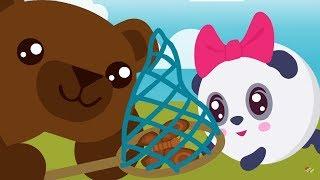 МАЛЫШАРИКИ - Умные песенки: Коричневый - Развивающие и обучающие песенки для детей и малышей