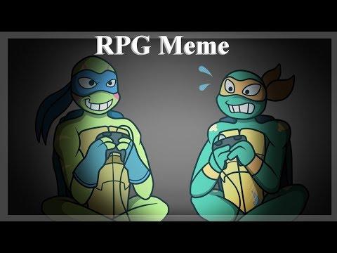 【Rise Of The TMNT | TMNT 2012】 RPG Meme 【Slight Rant Below】