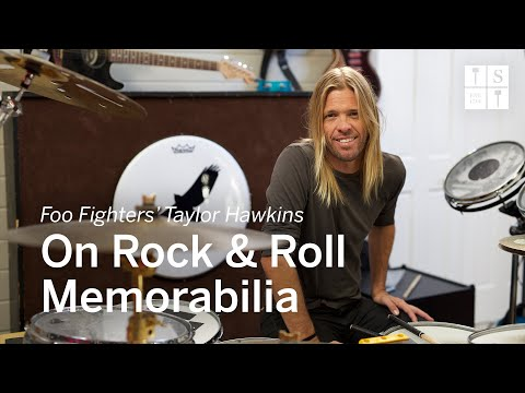 Foo Fighters Drummer Taylor Hawkins on Collecting, Rock & Roll Style