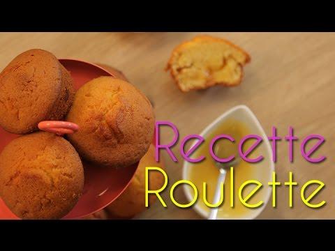 Muffins coeur de lemon curd