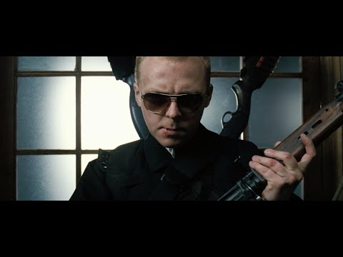 Hot Fuzz - Final Battle Scene (Before The Shootout | Part One)