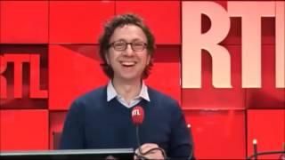 Fabrice Luchini se lâche à la radio