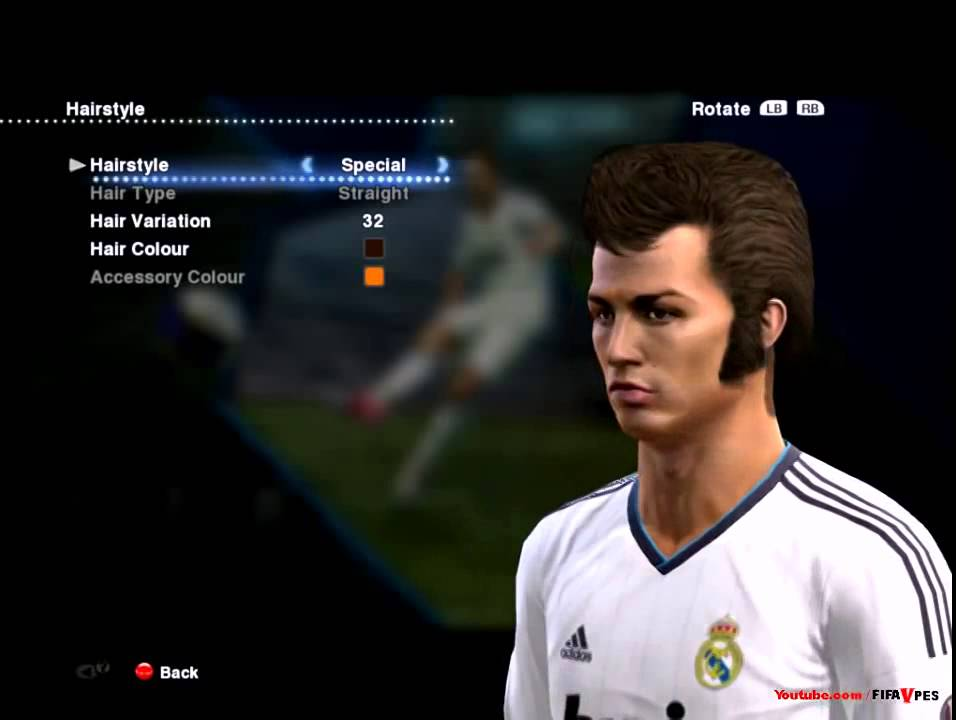 Pes 14cristiano Ronaldo New Hairstyle Special 7 Pes 2013 D