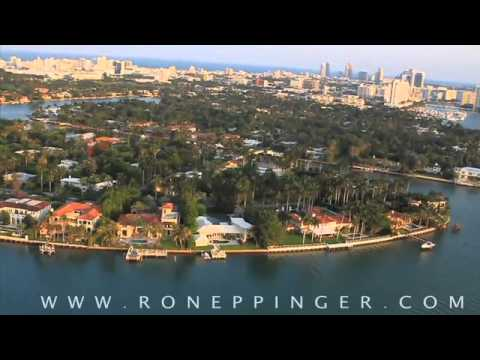"""Sunset Islands"" Miami Beach neighborhood video (real estate)"