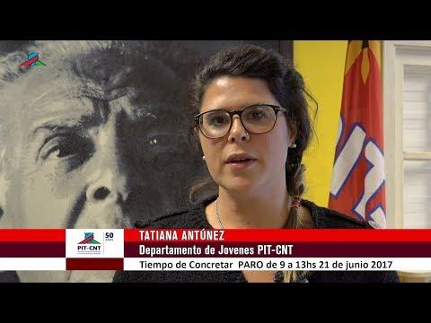 PIT-CNT Tatiana Antúnez Invitación PARO 21-6-2017