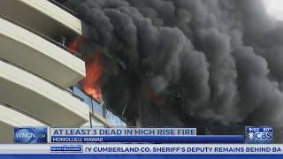 3 dead, 16 hurt in high-rise fire in Hawaii