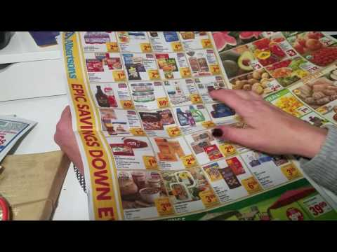 ASMR- *Request*- Page turning – weekly ads- coupons- no speaking