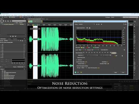Voice-over Audio Tutorial in Adobe Audition CS6 (w/ Zoom H1 Recorder) by Psynaps