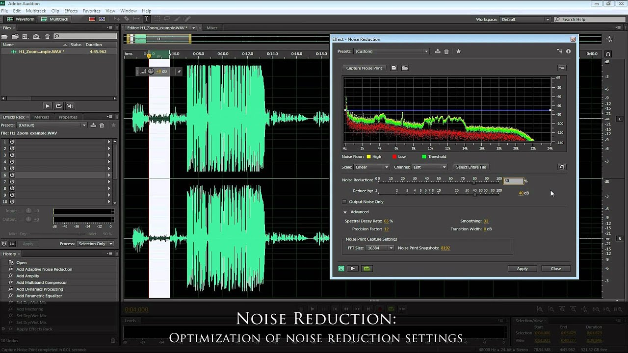 adobe record audio